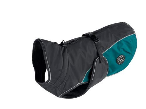Teal m Teal m HUNTER Dog Coat Uppsala Cozy, 50 cm anthracite teal