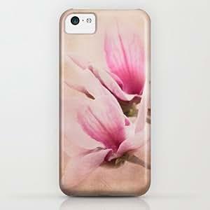 Society6 - Pink Magnolia Iii - Flower Art iPhone & iPod Case by Jai Johnson