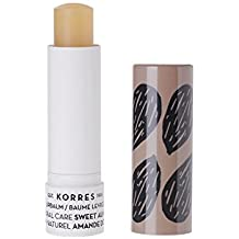 Korres Lip Balm Natural Care Stick, Sweet Almond, 0.17 Ounce