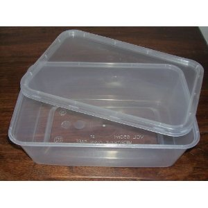 GSL 25 PLASTIC FOOD GRADE STORAGE CONTAINERS 650ml Amazoncouk