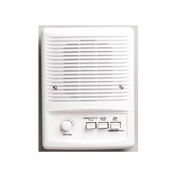 nutone nm100wh intercom master station white. Black Bedroom Furniture Sets. Home Design Ideas
