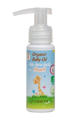 Organic Baby Oil Peach - AZETAbio - 50 ml