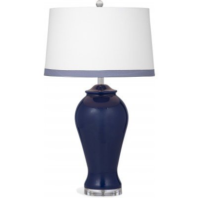 Bassett Mirror Hastings 1-Light Table Lamp, Navy, used for sale  Delivered anywhere in USA
