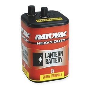 Lantern Battery, Industrial, 6V, Screw Term (Screw Lantern Terminal)