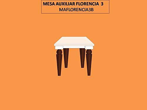 SERMAHOME- Mesa Auxiliar-Telefonera Decorativa Estilo Art Decó ...