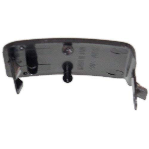 Code 040 Front Tow Eye Cover Compatible with MERCEDES BENZ S-CLASS 2007-2011 Black