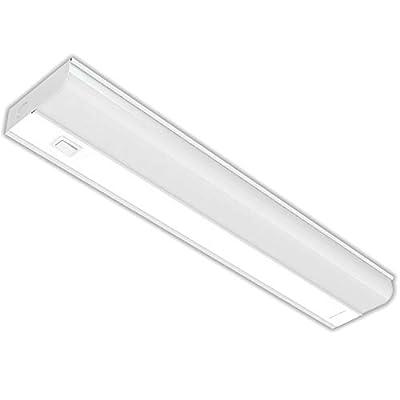 LED Under Cabinet Lighting - 3000K (Warm White), Metal Base Frost