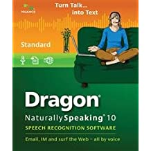 Dragon NaturallySpeaking 10 Standard (French) (vf - French software)