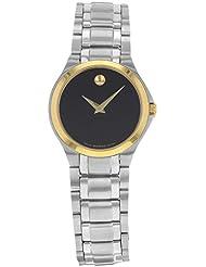 Movado Sapphire Quartz Female Watch 0606786 (Certified Pre-Owned)