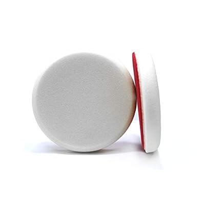 Maxshine White Flat Foam Cutting Pad - 6 Inch/150mm: Automotive