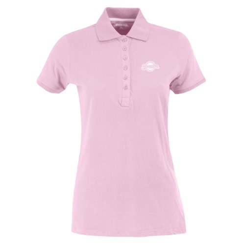 MLB Milwaukee Brewers Women's Spark Polo, Mid Pink, - 2005 Brewer