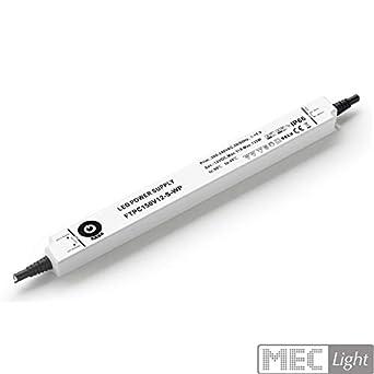 Transformador LED extraplano (12 V/CC, 150 W, 11 A, con MM) para ...