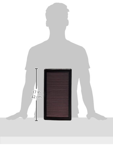 K/&N 33-2353 High Performance Replacement Air Filter