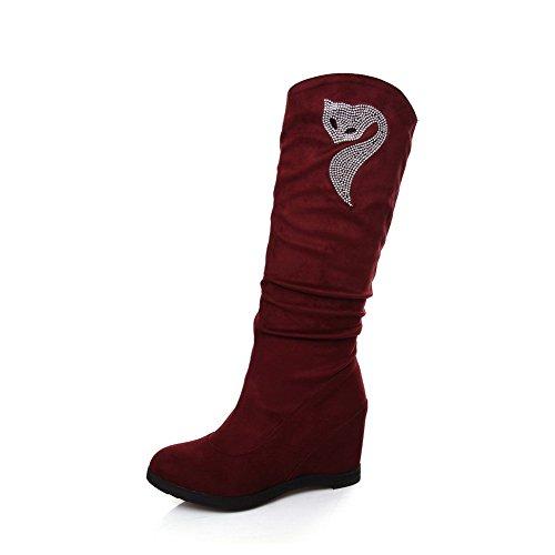 AdeeSu Red altas altas mujer Red mujer Zapatillas AdeeSu Zapatillas Zapatillas AdeeSu gfIwx
