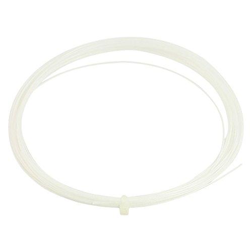 0.75mm Gauge Sports White Badminton Racket Racquet String 10M – DiZiSports Store