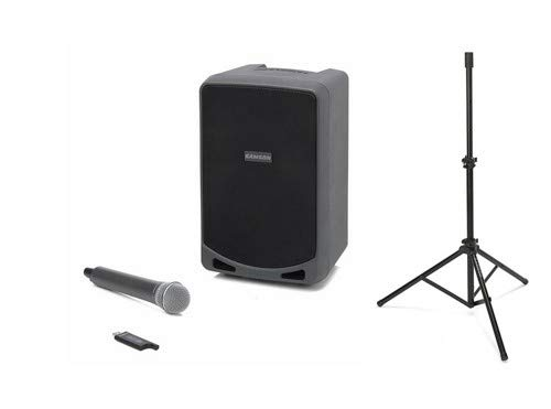 Samson XP106 Expedition Portable PA System with LS40 Speaker Stand