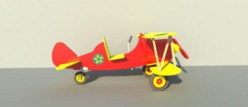 Pedal Car Plans - Build your own Childs pedal car bi-plane (DIY Plans) Fun to build!!