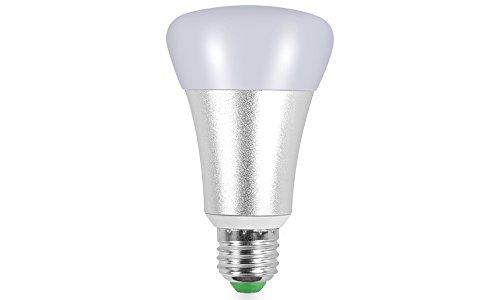 kobra led bulb color changing light mega bright rgbw 10w with remote control bright white or 16. Black Bedroom Furniture Sets. Home Design Ideas