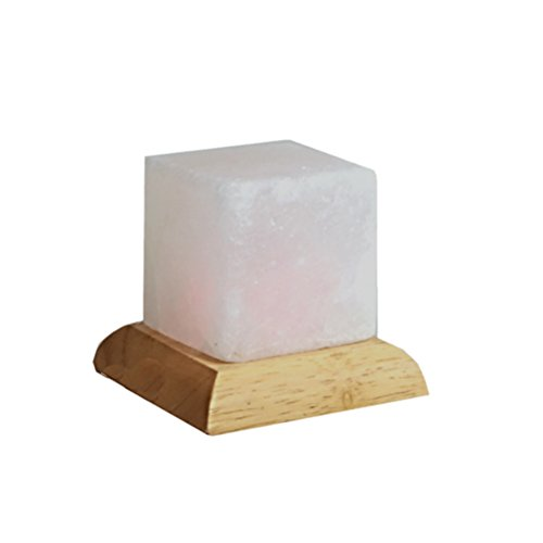 Himalayan Mini Mood Salt Lamp Cube white