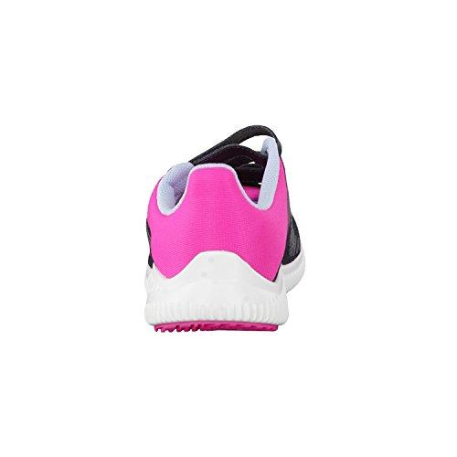 adidas FortaRun CF K - Zapatillas de deportepara niños, Gris - (GRIOSC/AZUSEN/ROSIMP), -5 dark grey/easy blue s17/shock pink s16