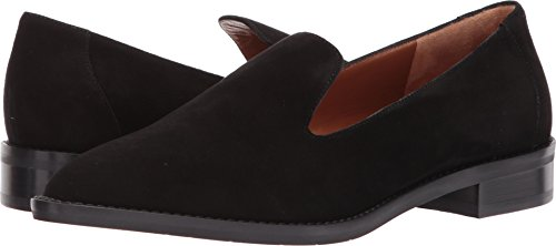 Aquatalia Women's Golda Suede Shoe, Black, 5 M US