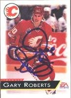 Gary Roberts Calgary Flames 1995 EA Sports Autographed Card. This item comes with a certificate of authenticity from Autograph-Sports. Autographed ()