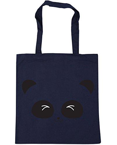 X38cm De Azul Cara Bolsa Francés Gimnasio Marino De 10 Litros 42cm Lindo Playa Panda Hippowarehouse Compras Asas De v7Aw1nO1xq