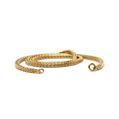 Trollbeads Gold 14ct Necklace, without lock cm 38 (TAUNE-00002)