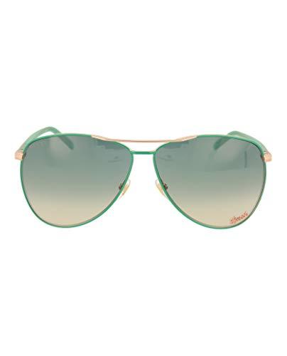 Gucci Womens Aviator Sunglasses GG0502S-30006512-003