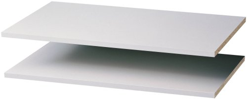 Easy Track RS1436 35-Inch Shelf, White, 2-Pack (35 Inch Wall Shelf compare prices)