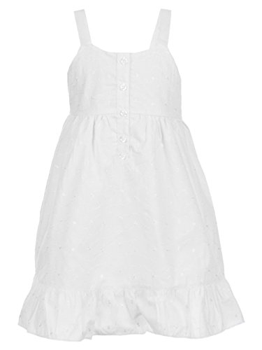 ls' Dress - White, 8 ()