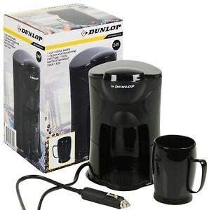 REFORMI - Cafetera de Filtro Lavable con 1 Taza para camión, enrojecimiento y Encendedor de Cigarrillos de 24 V ...