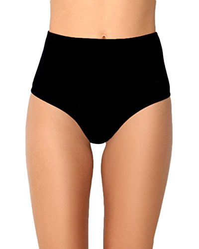 iHeartRaves Black High Waisted Rave Booty Shorts (Medium/Large) -