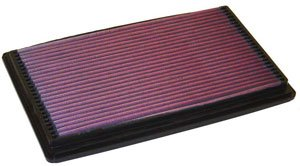 K&N ENGINEERING 33-2140-1 Air Filter; Panel; H-0.875 in.; L-7.688 in.; W-12.813 in.;