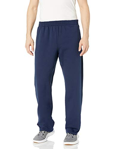 Fruit of the Loom Men's Fleece Sweatpants, Navy, Small (Sale Christmas After Lush 2019)