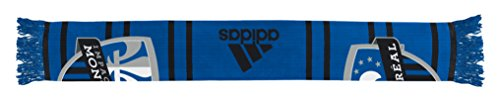 (MLS Impact Montreal Halftime Jacquard Scarf, Blue, One Size)