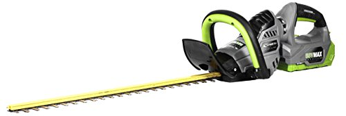 Earthwise LHT15824 Dual Action 24-Inch Blade 58-Volt Cordless Hedge Trimmer, 2Ah Battery & Charger Included by Earthwise