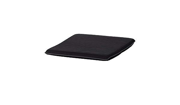 IKEA ASIA POANG - Cojín para reposapiés, Color Negro: Amazon ...
