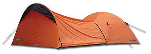 Harley-Davidson Dome Tent w/Vestibule Motorcycle Storage, Orange HDL-10010A