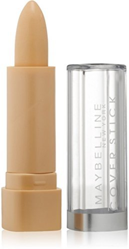 MaybellineNew York Cover Stick Concealer, Ivory [115], Light 2, 0.16 oz by Maybelline (Stick Cover Concealer Maybelline Ivory)