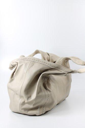 Belli , Cabas pour femme Beige Blanc 50x26x20 cm (B x H x T)