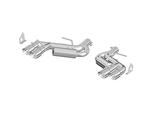 Back Aluminized Dual Exhaust - MBRP S7036AL 3