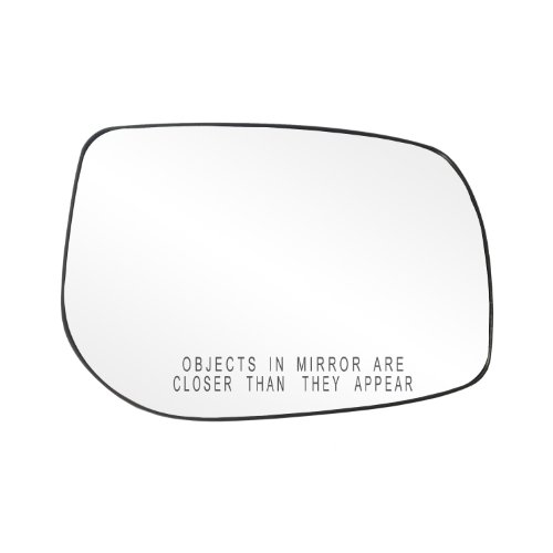 Fit System 80226 Toyota Corolla/Matrix Right Side Power Replacement Mirror Glass with Backing Plate (Mirror Matrix Toyota Side)