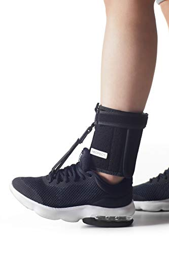 NEOFECT Foot-Up Brace – Foot Drop Foot up AFO Dorsal Splint & Ankle Stability Stroke, SCI, TBI, Plantar Fasciitis, Achilles Tendonitis, Muscular Distrophy