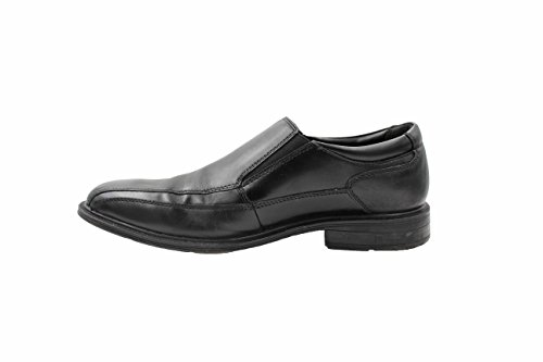 Kenneth Cole Mens Läder Slip-on Dagdrivare (svart, 8)