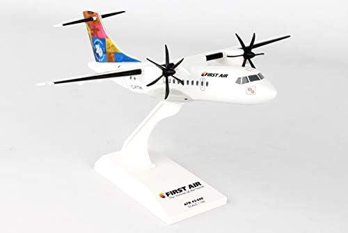 Skymarks ATR42 Silver Scale 1:100 SKR965