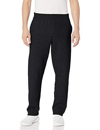 Fruit of the Loom Men's Fleece Sweatpants, Black, XXX-Large (Fuzzy Sweatpants Men)
