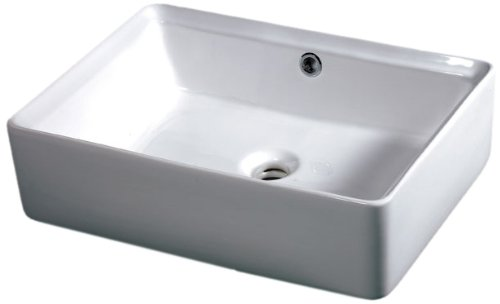 (EAGO BA131 20-Inch  Rectangular Ceramic Above Mount)