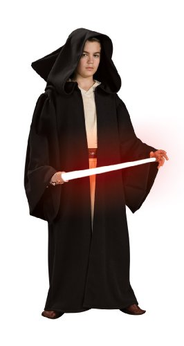 Star Wars Deluxe Sith Robe Child Costumes (Star Wars Child's Deluxe Hooded Sith Robe, Large)