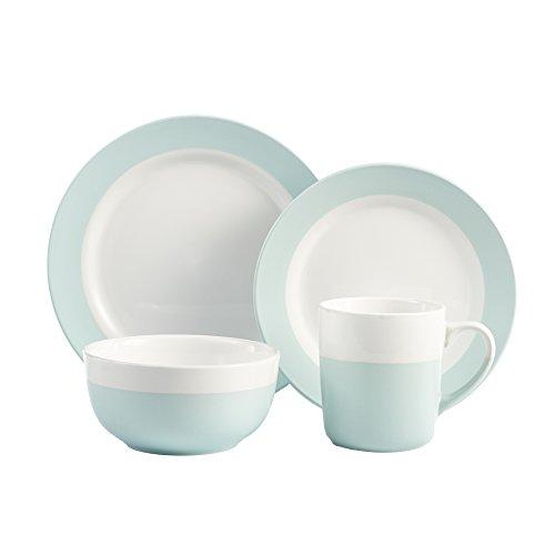 American Atelier Serene 16 Piece Dinnerware Set, Green